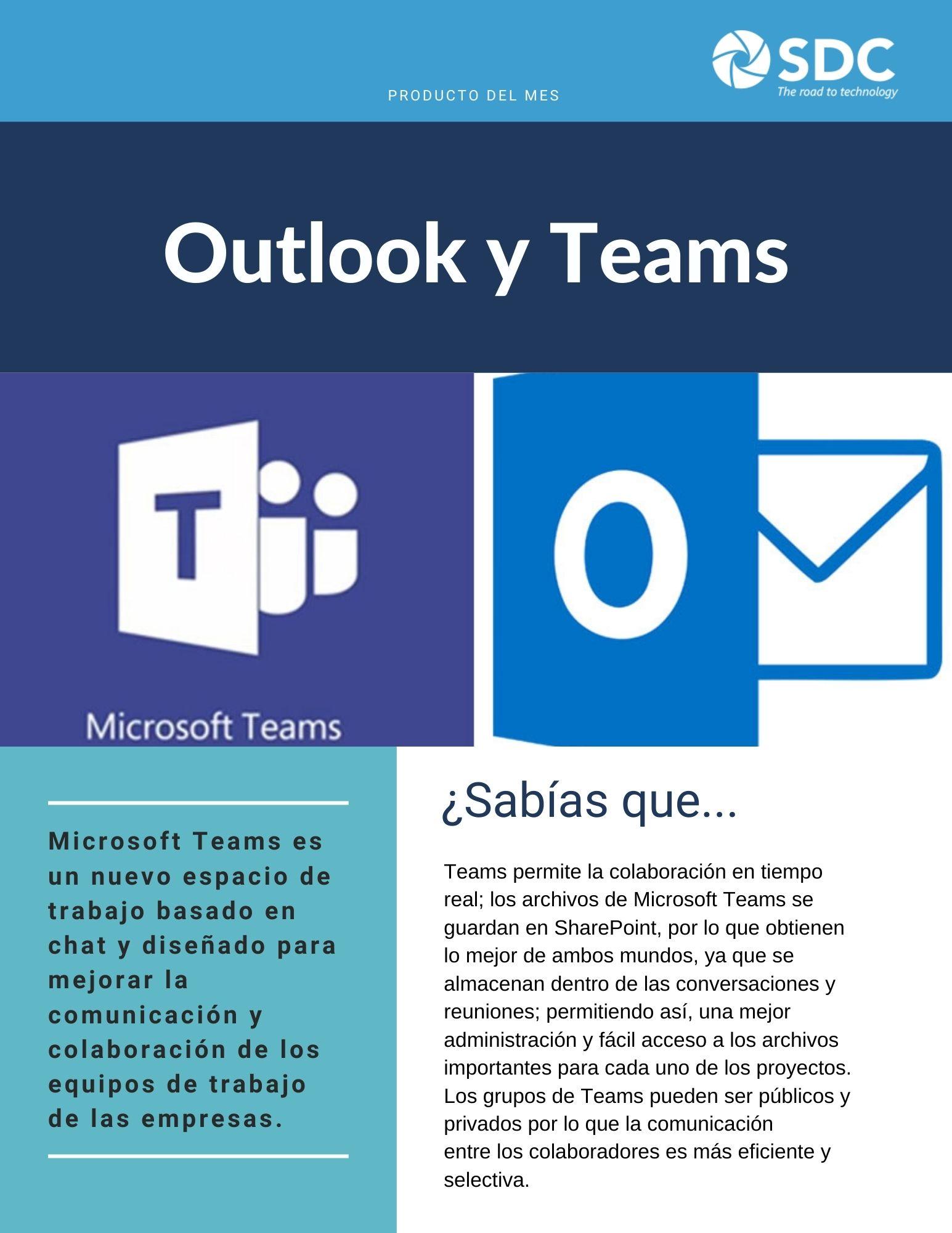 Outlook y Teams